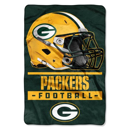 Green Bay Packers Soft Blanket (NFL Green Bay Packers Sideline Oversized Micro Raschel 62