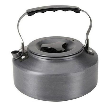 1.1L Kettle Picnic Camping Cookware Teapot Water Coffee Pot Aluminum Outdoor