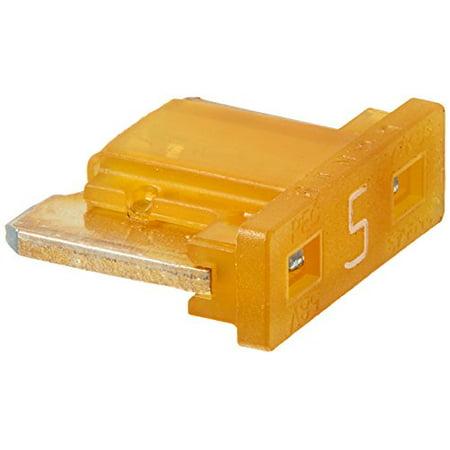 Bussmann BP/ATM-5LP-RP Low Profile ATM Automotive Blade Fuse (5 Amp (Card)), 5