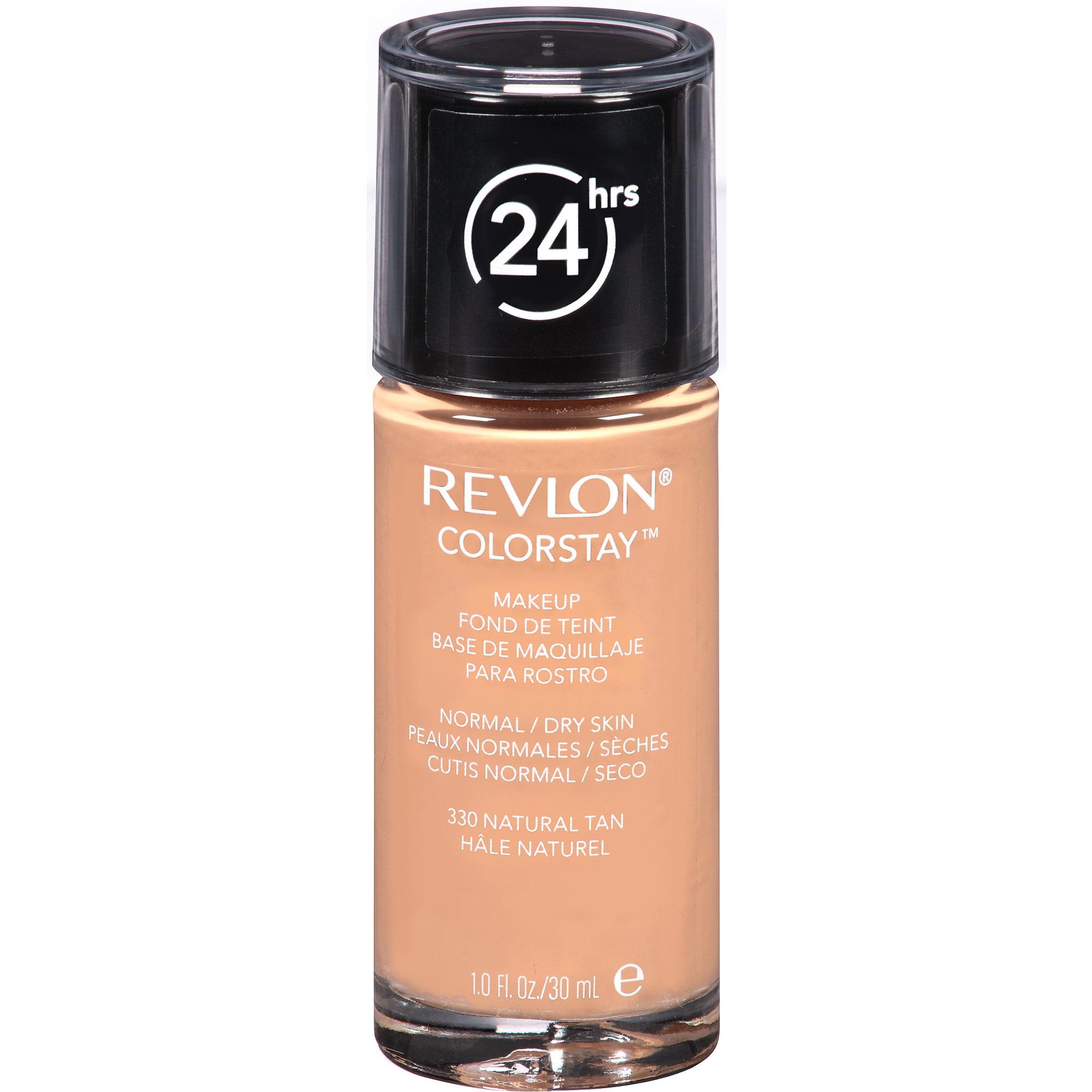 Revlon ColorStay Makeup for Normal / Dry Skin, 330 Natural Tan, 1 fl oz