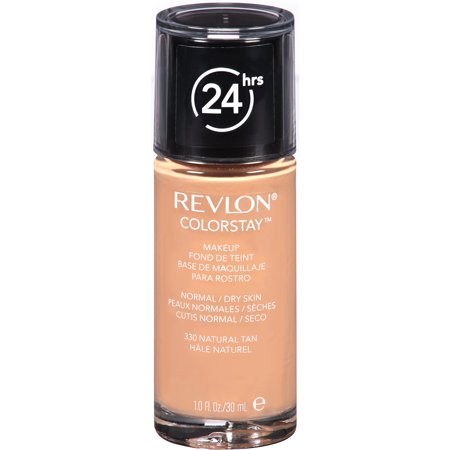 Revlon ColorStay Makeup for Normal/Dry Skin, 330 Natural Tan