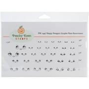 Peachy Keen Stamps Clear Face Assortment 32/pkg-penguin Couples