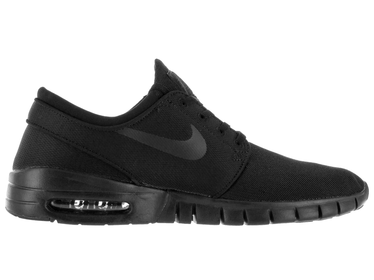 Nike SB Zoom Stefan Janoski Max Shoes All Black MenWomen PrR68