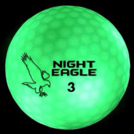 Glow In The Dark Golfballs (LED Golf Ball Green)