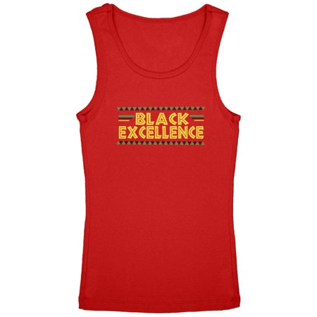 - Black History Month Excellence Pan African Colors Youth Girls Tank Top