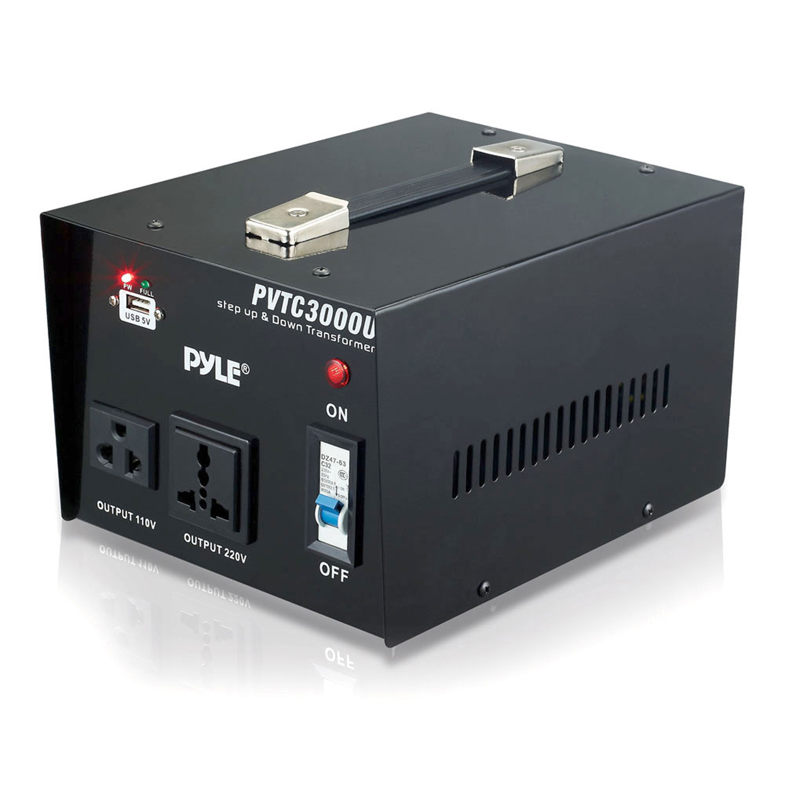 Pyle 3000 Watt Step Up And Down Converter