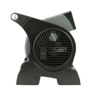 Lasko Pro-Performance High Velocity Utility 3-Speed Fan, Model #4905, Black