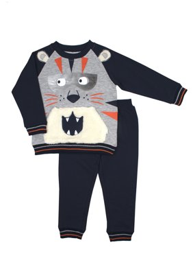 ad85529a90df Product Image Little Rebels Sherpa Fleece Sweatshirt   Jogger Pants