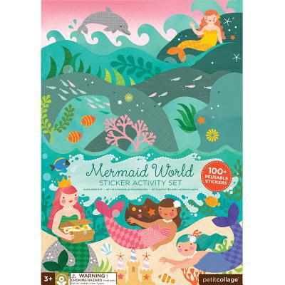 Petit Collage Sticker Activity Set, Mermaid World ()