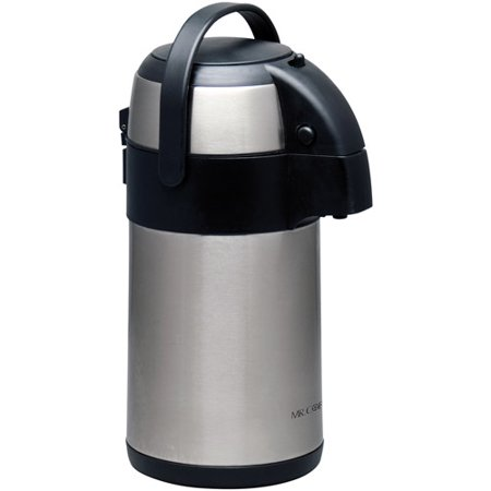 Coffee Pump Pots - Gibson Mr. Coffee Everflow 2.2L Pump Pot, Polished