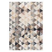 Rizzy Home XI6950 Ivory 8' x 10' Power-Loomed Area Rug