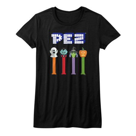 Pez Halloween Sugar Candy Dispenser American Classics Junior T-Shirt - image 1 de 1