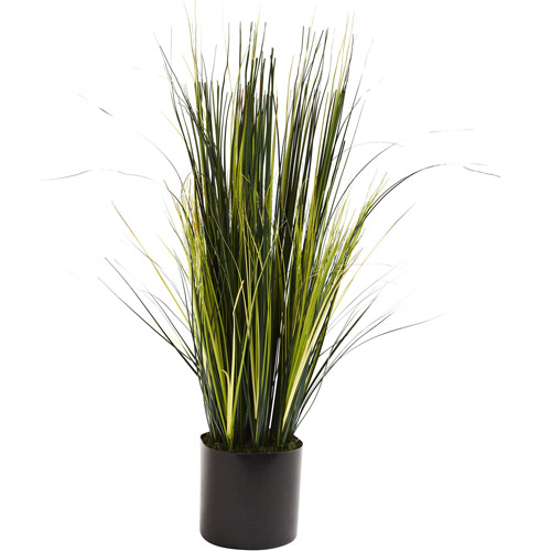 Nearly Natural 3' Onion Grass Plant