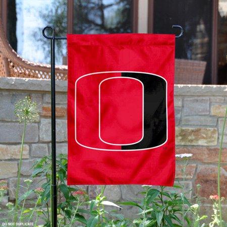 "Nebraska Omaha Mavericks Red 13"" x 18"" College Garden Flag"