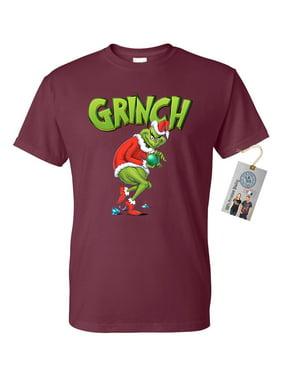 Mr Grinch Christmas Mens Short Sleeve