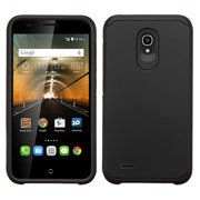 For 7046T One Touch Conquest Black/Black Astronoot Phone Protector Cover