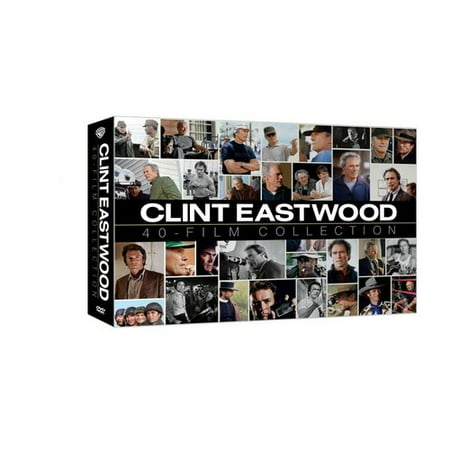 Clint Eastwood Collection 40 Box Set (DVD)