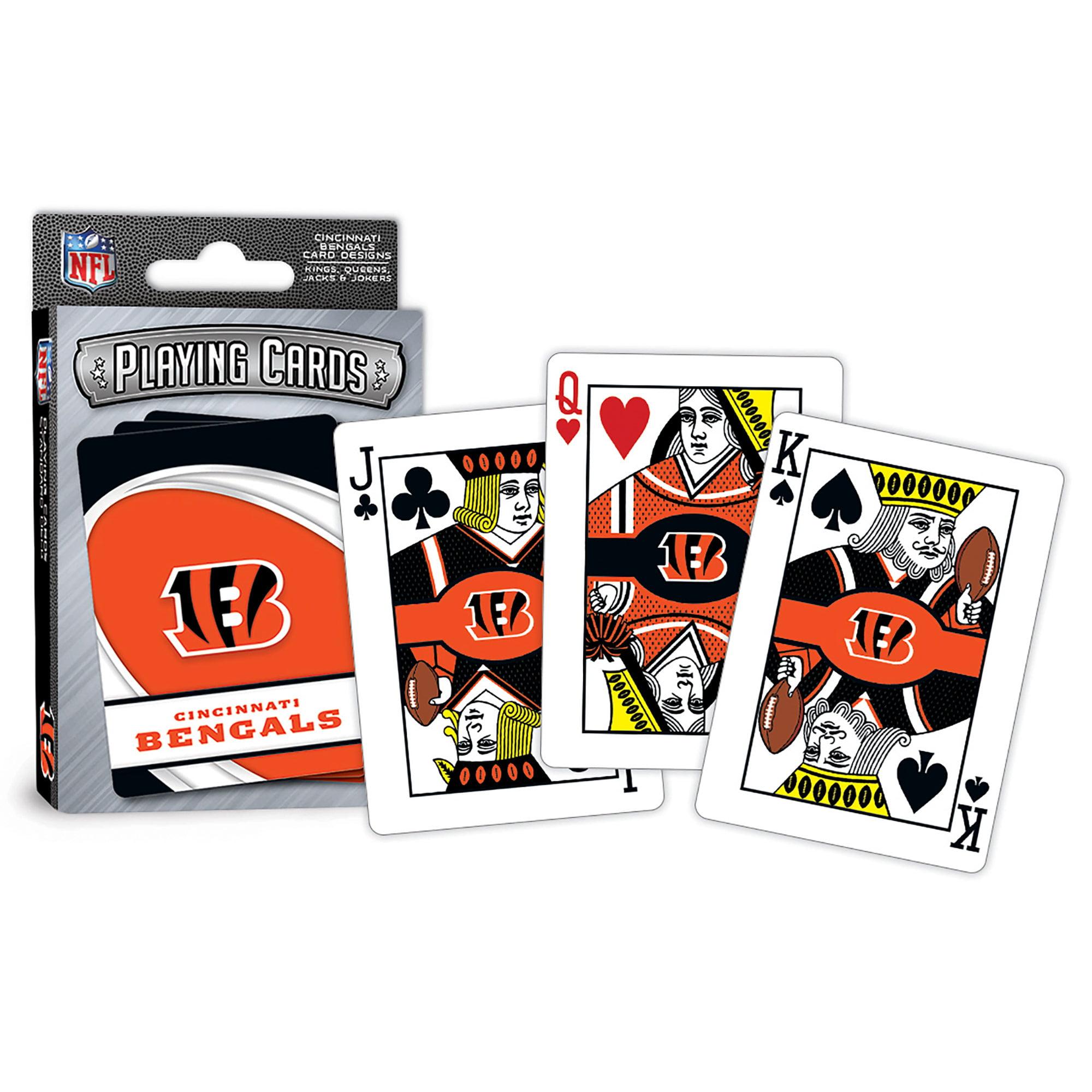 MasterPieces Cincinnati Bengals Playing Cards