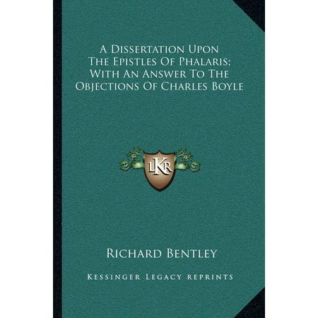 A dissertation upon the epistles of phalaris