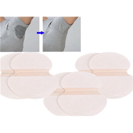 6pcs Underarm Adhesive Sweat Pad Armpit goodbye Antiperspirant Deodorant Deodera Goodbye Static Pad