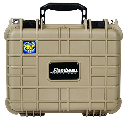 Flambeau[r] 1410hd-t Hd Series Medium Pistol Case [desert Tan]