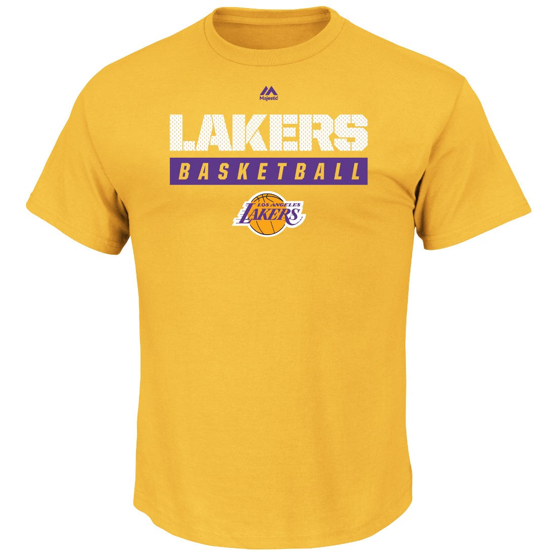 "Los Angeles Lakers Majestic NBA ""Proven Pastime"" Short Sleeve Men's T-Shirt"