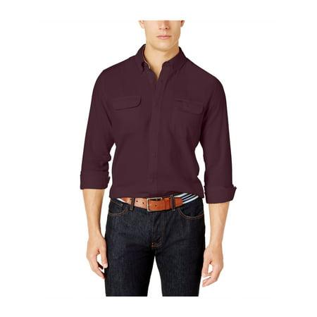 b756d6903c9b4 Shirts   Hemden Tommy Hilfiger Mens Ben Flannel Button Up Shirt  Freizeithemden   Shirts