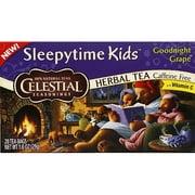 ***Discontinued***Celestial Seasonings Sleepytime Kids Goodnight Grape Herbal Tea, 1 oz, (Pack of 6)
