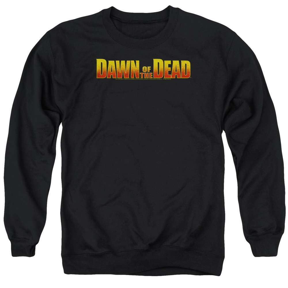 Dawn Of The Dead Dawn Logo Mens Crewneck Sweatshirt