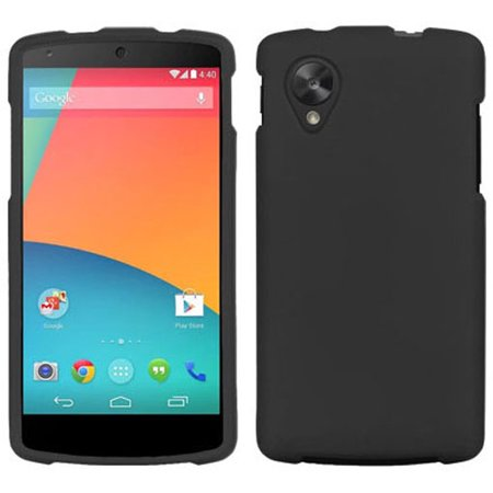 GRAY RUBBERIZED PROTEX HARD CASE PROTECTOR COVER FOR LG/GOOGLE NEXUS 5 PHONE