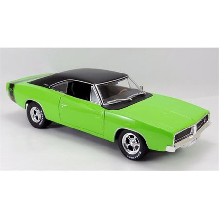 Maisto MAI32612GR 1969 Dodge Charger R-T Model Car, Green & (1969 Dodge Charger Rt For Sale Cheap)