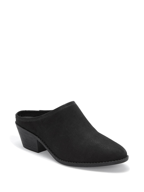 Zeuse Zeta Block Heel Leather Mules