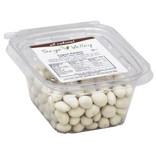 Sage Valley Yogurt Raisins, 10 oz (Pack of 6)