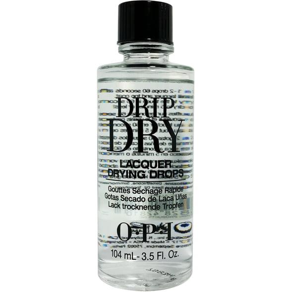 OPI Nail Treatment Drip Dry Nail Polish Drying Drops 3.5oz/104mL