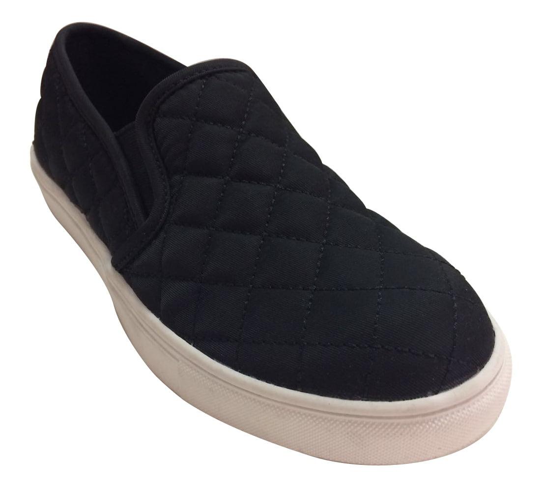 Tru Women's Flat Quilted Shoe