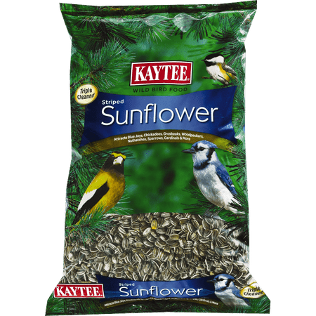 Kaytee® 100033650 Striped Sunflower Wild Bird Seed, 5 Lb (Sunflower Wild Bird Seed)