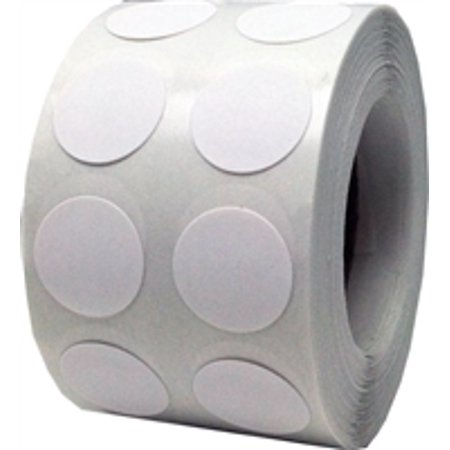 White circle dot stickers 1 2 inch round 1000 labels on for Half inch round labels