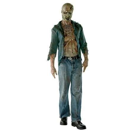 The Walking Dead Decomposed Zombie Deluxe Adult - Walking Dead Zombie Girl Costume