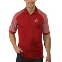 Toronto FC Antigua Desert Dry Engage Polo - Red/White