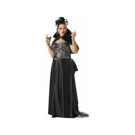 b5f3049594 Adult Plus Size Victorian Vampira Costume