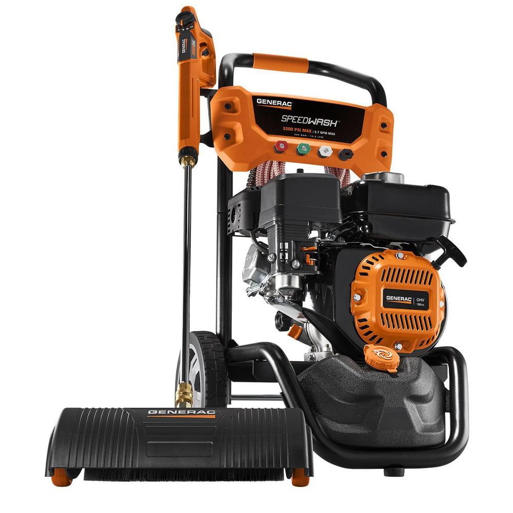Generac 7122 - 3200 PSI 2.7 GPM SpeedWash Gas Pressure Washer