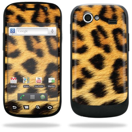 Mightyskins Protective Vinyl Skin Decal Cover For Samsung Google Nexus S 4G Cell Phone Wrap Sticker Skins    Cheetah