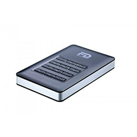 Encrypted Portable Usb (Fantom Drives DataShield 1TB 256-bit AES Hardware Encrypted Portable USB 3.0 External Hard)