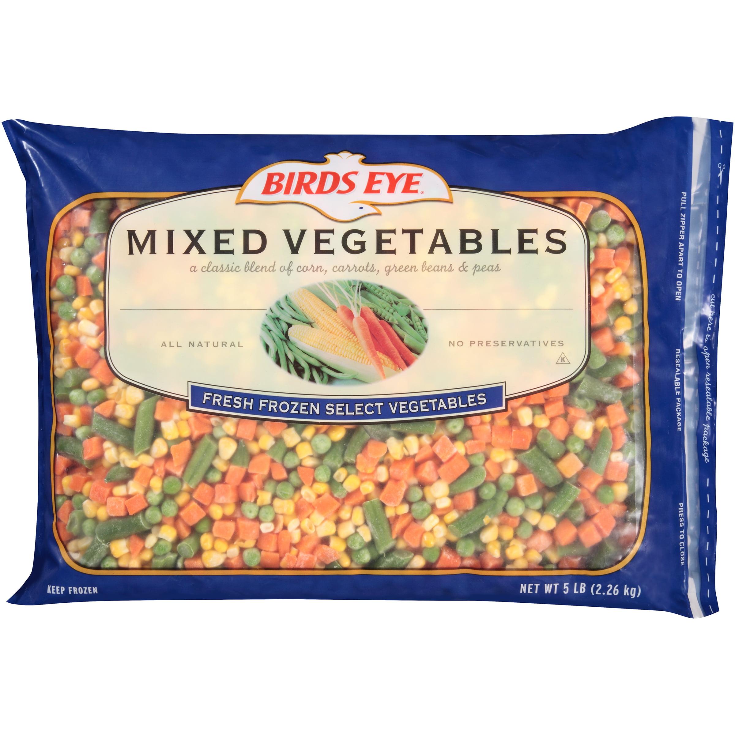 Birds Eye�� Mixed Vegetables 5 lb. Bag