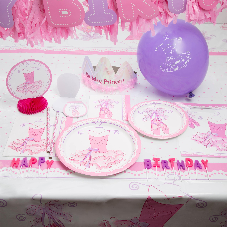 Pink Ballerina Party Supplies Walmart Com