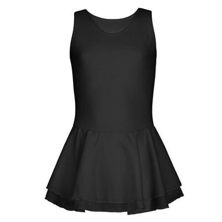 Double Layer Skirt Tank Dress - (Capezio Dress)