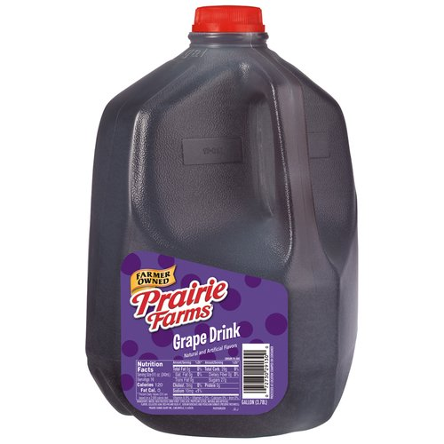 Prairie Farms Grape Drink, 1 Gallon