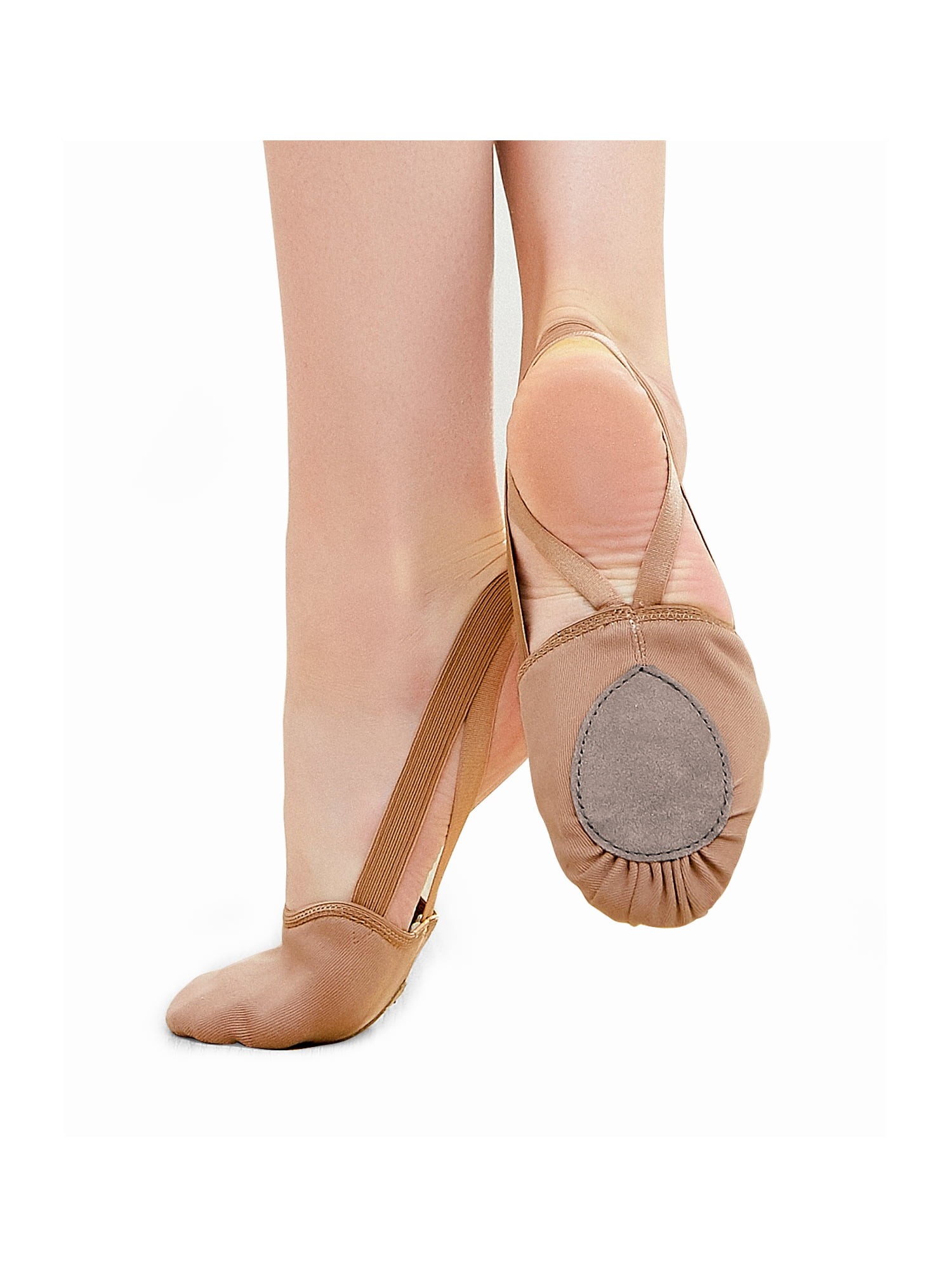STELLE Canvas Pirouette Half Sole Shoes for Ballet Jazz Dance Girls//Women//Men