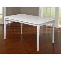 Albury Turned Legs Table, White