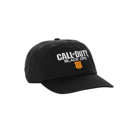 daeb95c9d Call of Duty: Black Ops 4 Black Curved Bill Adjustable Back Dad Hat